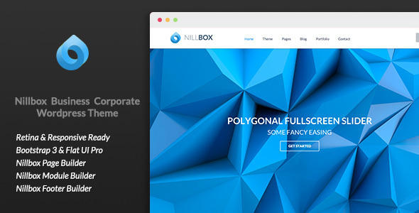 Nillbox Business Corporate WordPress Theme