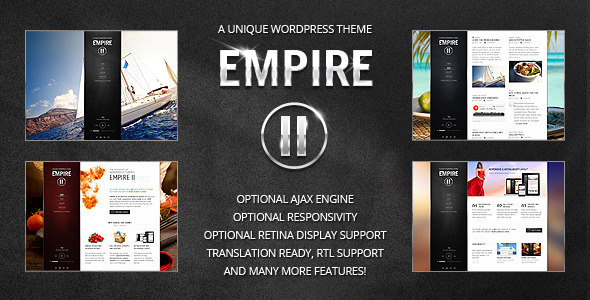Empire II – WordPress Theme