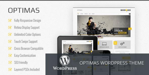 Optimas – Responsive WordPress theme