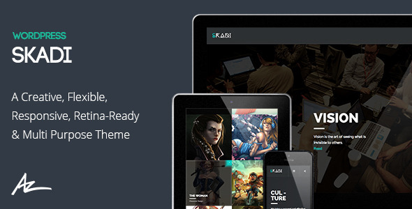 Skadi – Creative & Retina Multi-Purpose Theme