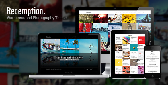 Redemption – WordPress and Photography Theme