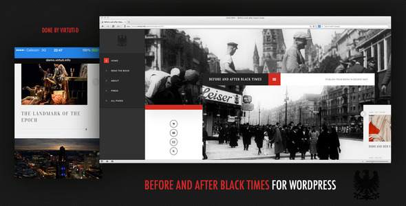 Before And After Black Times Theme For WordPress