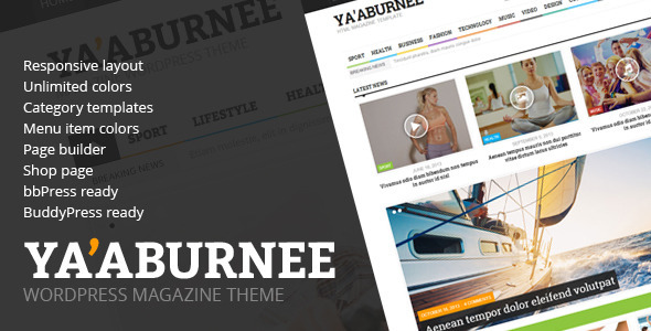 Ya'aburnee – Magazine & E-Commerce Theme