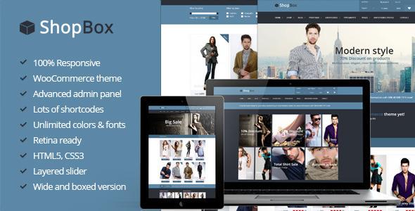 ShopBox – Responsive WooCommerce Theme