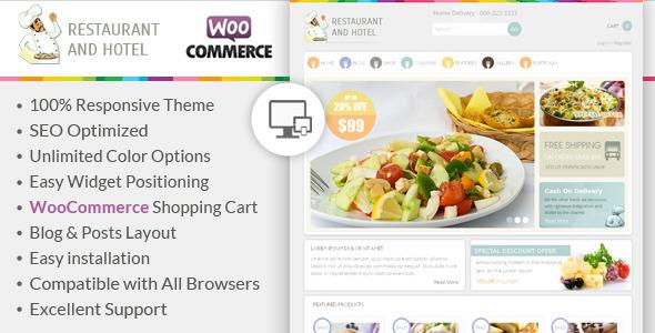 Restaurant – Responsive WooCommerce Theme