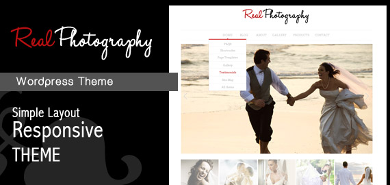 Real Photography Responsive WordPress Theme
