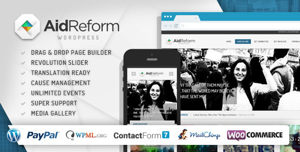 Aid Reform: NGO Donation and Charity Theme