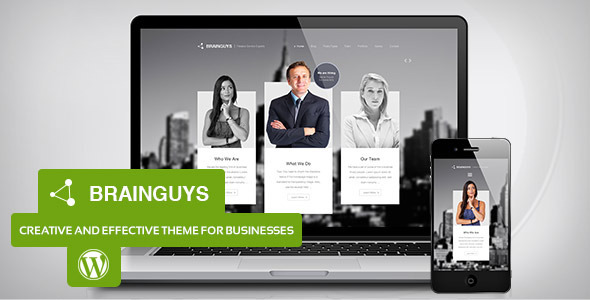 Brainguys – Creative Business Theme for WordPress