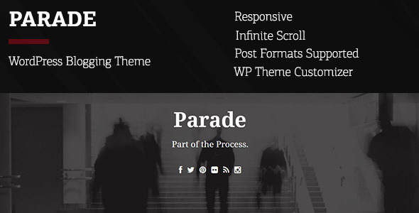 Parade – WordPress Blogging Theme