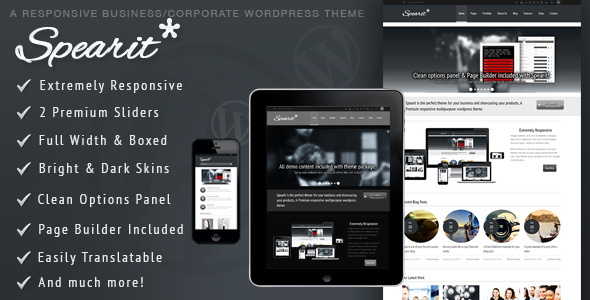 Spearit – Responsive Business Corporate Theme