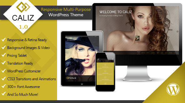 Caliz WordPress Theme