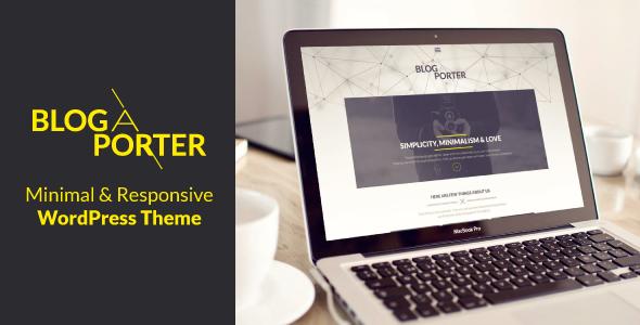 Blog-A-Porter – 3D Menu Responsive WordPress Theme