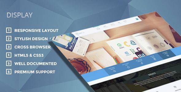 Display – Responsive WordPress Theme