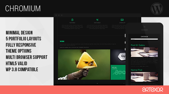Chromium – Creative Portfolio Theme