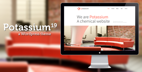 Potassium : Responsive One Page WP Theme