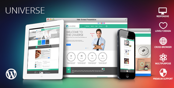 Universe – Multi-Purpose WordPress Theme