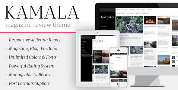 Kamala – Multi-purpose / Magazine / Review Theme