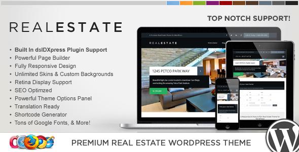 WP Pro Real Estate 6 Responsive WordPress Theme