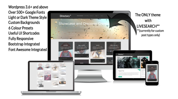 The Directory Responsive WordPress Theme
