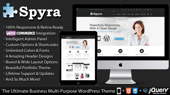 Spyra – Responsive Multi-Purpose Theme