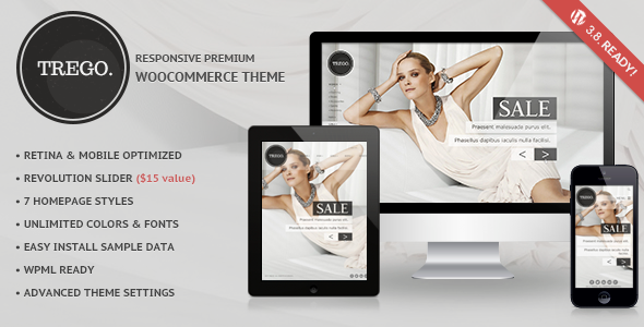 Trego – Ultimate Responsive Woocommerce Theme