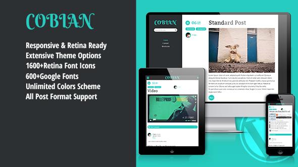 Cobian – Responsive Blogging Theme
