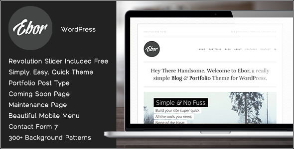 Ebor – Professional Agency WordPress Theme