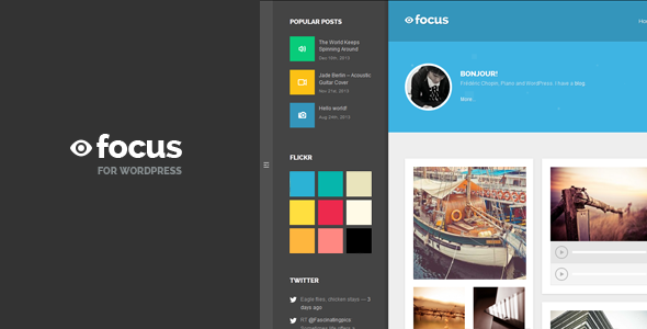 Focus – Multipurpose Blog WordPress Theme