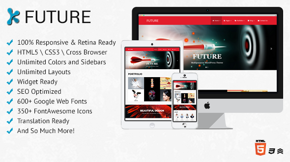Future – Multi-Purpose WordPress Theme