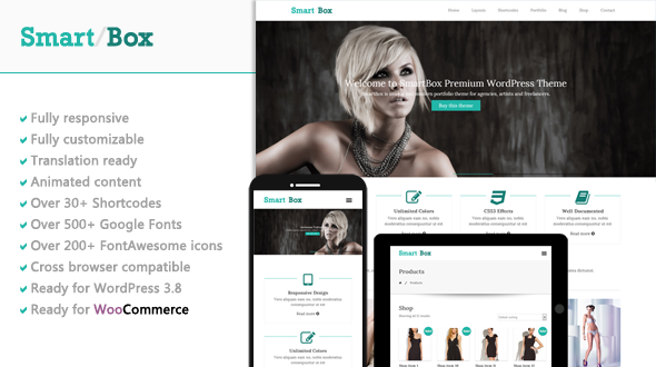 SmartBox – Responsive Multipurpose WordPress Theme