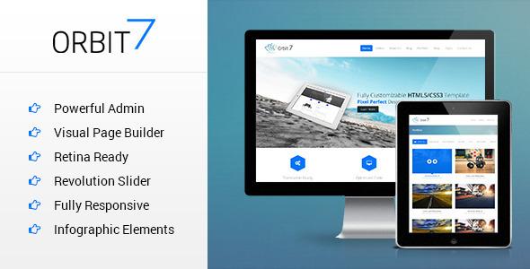 Orbit7 – Premium Multipurpose WordPress Theme