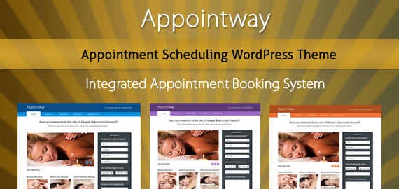 Appointway – Appointment Booking WordPress Theme