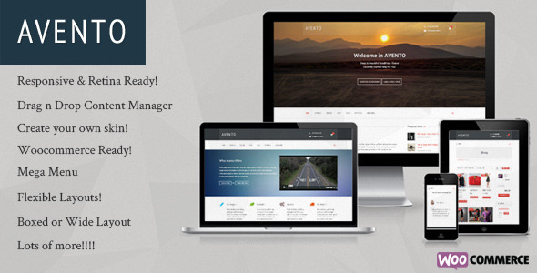 Avento – Multipurpose Business WordPress Theme