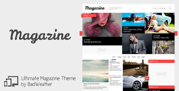 Magazine – News / Blog / Review Theme