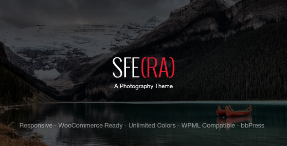 Sfera – Premium Photography Theme