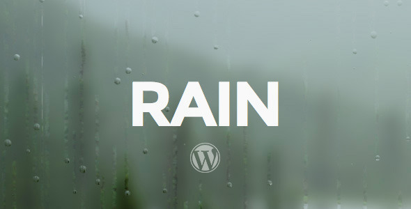 RAIN – Responsive WordPress Theme