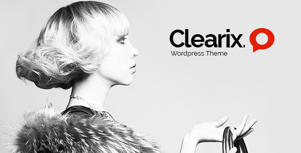 Clearix – Creative Parallax One Page WordPress