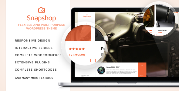 SnapShop – Woocommerce Theme For Gadget Shop