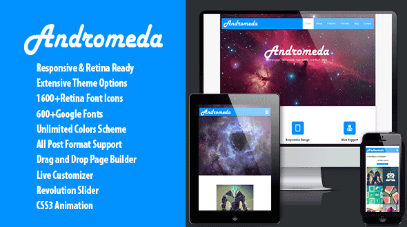 Andromeda – Multipurpose Theme With Page Builder
