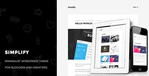 Simplify – Minimalist Personal Blog