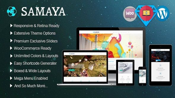 Samaya – Responsive Multi-Purpose Theme