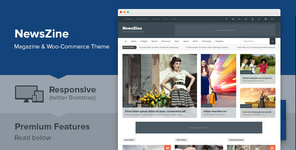NewsZine – Responsive Multipurpose Newspaper Theme