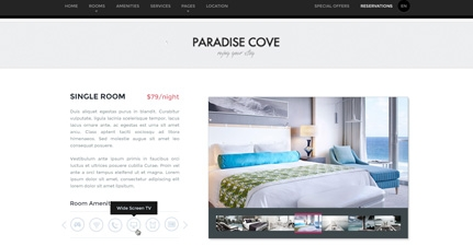 Paradise Cove – WordPress Hotel Theme