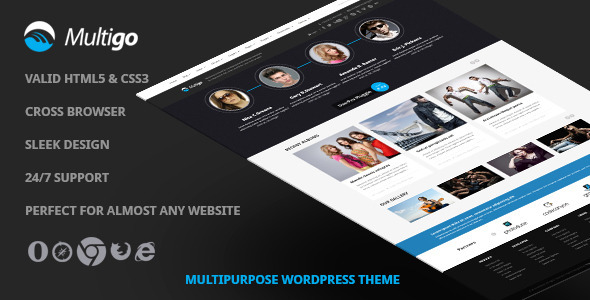 Multigo – Responsive Multipurpose WordPress Theme