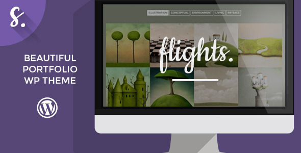 Flights – Creative Portfolio WordPress Theme