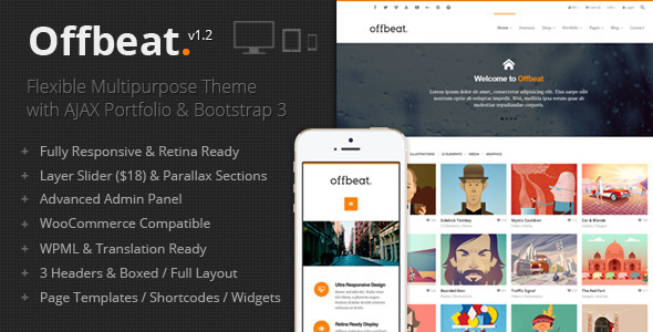 Offbeat – Responsive Multi-Purpose Theme