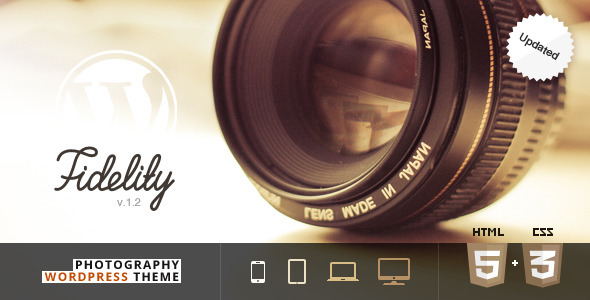 Fidelity – Premium Photography WordPress Theme