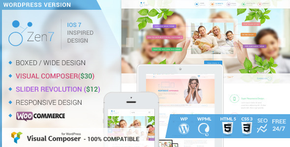 Zen7 – Premium Multi-Purpose WordPress Theme