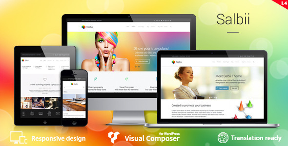 Salbii – Responsive Multi-Purpose WordPress Theme