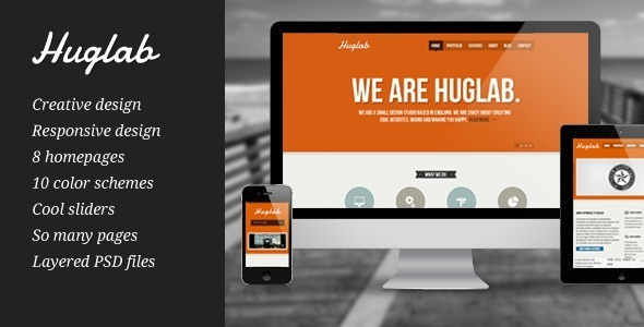 Huglab – Responsive Multi-Purpose Theme